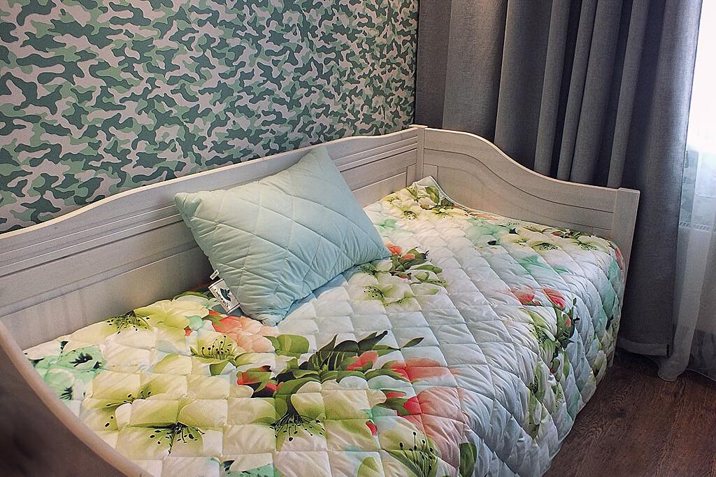 Покрывало на кровать с подушками купить